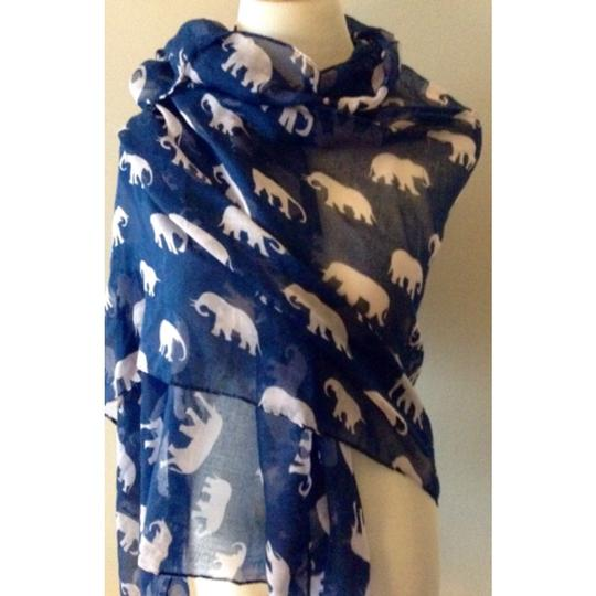 Other Elephant Print Scarf Image 1