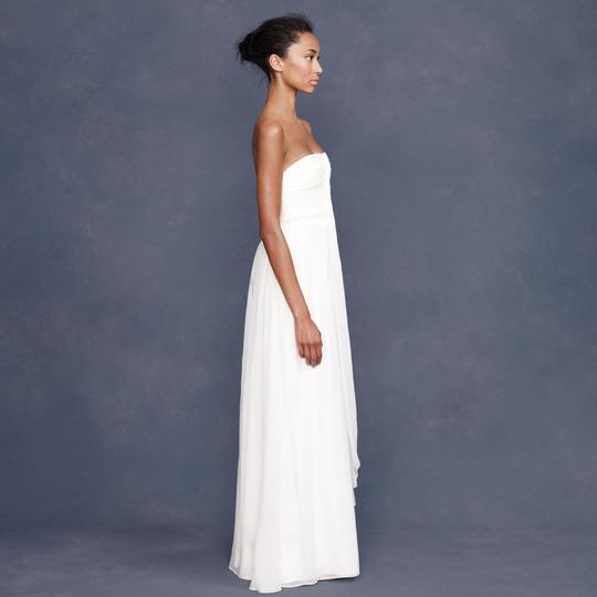 J.Crew Ivory Silk Chiffon Whitney Destination Wedding Dress Size 16 (XL, Plus 0x) Image 1
