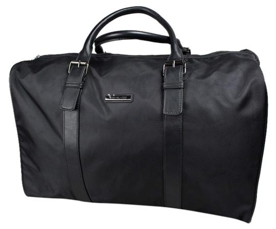 Preload https://img-static.tradesy.com/item/7124974/michael-kors-duffle-black-polyester-weekendtravel-bag-0-1-540-540.jpg