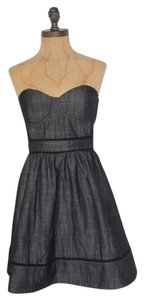 Forever 21 Bustier Fit Flare Strapless Dress
