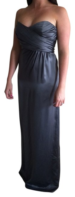 Amsale Elegant Silk Strapless Never-worn Sexy Dress