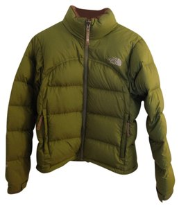 The North Face Down Nuptse Brown Coat