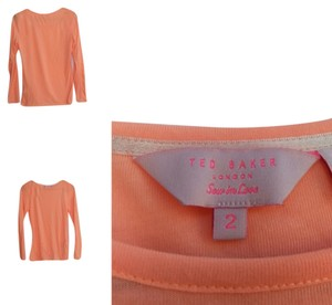 Ted Baker Top bright orange