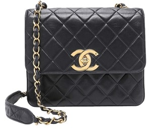 Chanel Quilted Classic Flap Jumbo Square Shoulder Bag