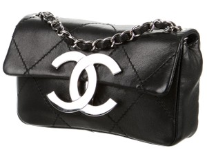 Chanel Mini Square Classic Flap Jumbo Cross Body Bag
