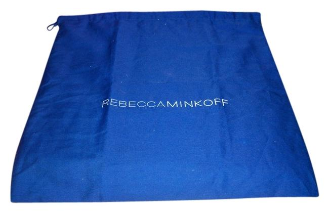 Item - Dust Cover 16 X 16 (Approx) Fabric and Black Blue with Logo White Cotton Tote