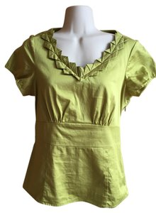 The Limited 100% Cotton Top green