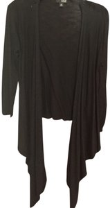 a.n.a. a new approach Draped Rayon Cotton Cardigan