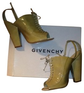 Givenchy Patent Beige Formal