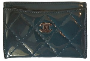 Chanel Chanel Patent Leather Credit Card / ID Holder