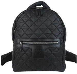 Chanel 2014 Cocoon Quilted Satchel Backpack