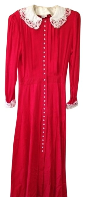 Preload https://img-static.tradesy.com/item/712903/marie-st-claire-red-vintage-mid-length-night-out-dress-size-10-m-0-0-650-650.jpg