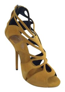 Giuseppe Zanotti Sandals Yellow Pumps