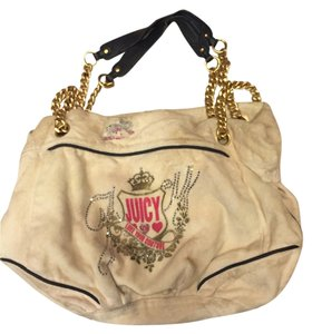 Juicy Couture Chain Satchel in White