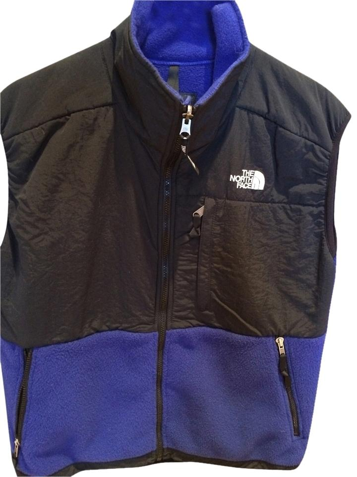 3def9aaf40 The North Face Black and Royal Blue Vest Size 8 (M) - Tradesy