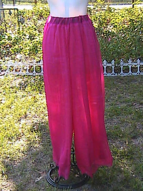 Other W/O Tag Dress Wide Leg Pants Red Image 2