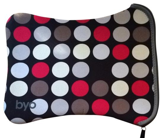 Preload https://item3.tradesy.com/images/black-with-red-cream-and-grey-dots-laptop-sleeve-tech-accessory-713007-0-0.jpg?width=440&height=440
