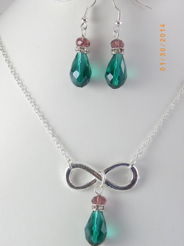 Other sale set of 6 infinity bridesmaid necklace and for Bridesmaid jewelry sets under 20