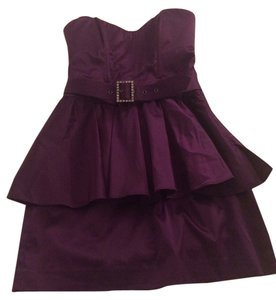 bebe Peplum Dress