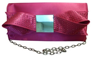 Ted Baker Bright Bowsie Pink Clutch