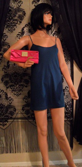 Ted Baker Bright Bowsie Shoulder Studded New Gold Pink Clutch