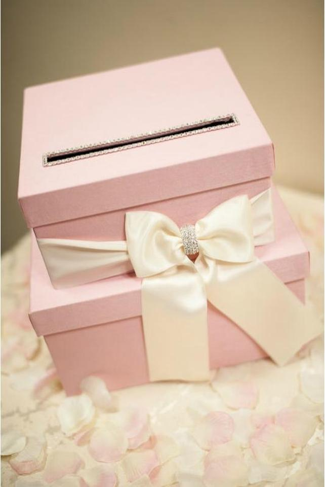 Pink Card Box Gift Card Box Card Holder Reception Decoration 28% off retail