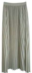 Maxi Pleated Maxi Skirt Cream