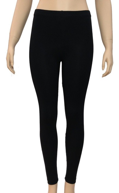 Forever 21 Sweater Warm Cotton Hugs The Body black Leggings Image 2