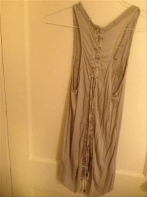 MM Couture Top Gray