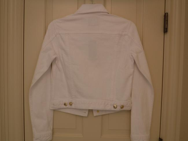 Juicy Couture Cotton White Womens Jean Jacket Image 5