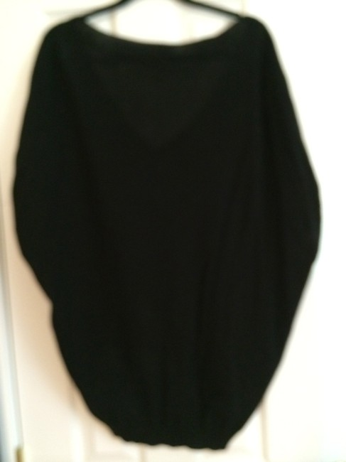 Susana Monaco Dolman Sleeve Tunic V-neck Sweater