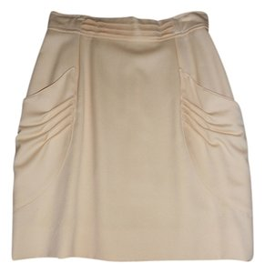 Lilly Rubin Wool Skirt EGG SHELL