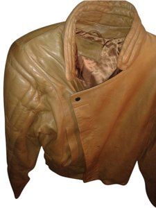 Claude Montana Beautiful Brown Leather Jacket