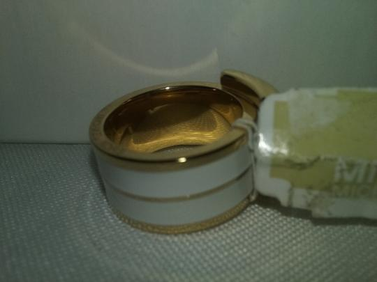 Michael Kors REDUCED $23 PLUS $25 BONUS**Gold Tone Double Layer Buckle Ring