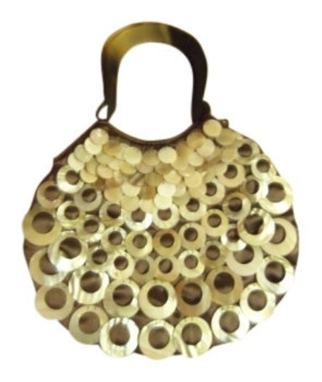 Preload https://img-static.tradesy.com/item/7137/mad-bags-natural-horn-mother-brown-and-pearl-satin-baguette-0-0-540-540.jpg