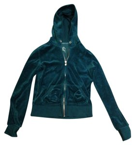 Express Teal Velour Soft Green Jacket