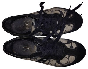 Coach Like-new Khaki Baylee Flat Khaki/Black Athletic