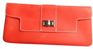 Sondra Roberts Light Red Clutch