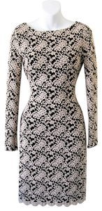 Alice + Olivia Khloe Lace Open Embroidered Dress