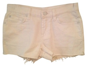 7 For All Mankind Denim Mini/Short Shorts white