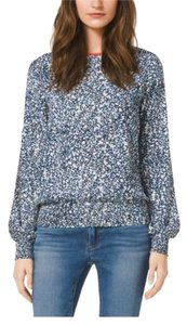 Michael Kors Top Blue, White, Mandarin