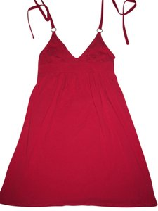 Moda International short dress red Victoria's Secret Bra Top Halter on Tradesy