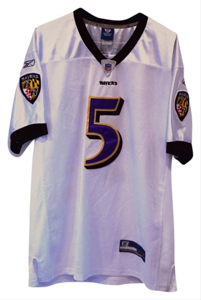 on sale a5cf7 16b3f reebok baltimore ravens joe flacco 5 red authentic jerseys sale