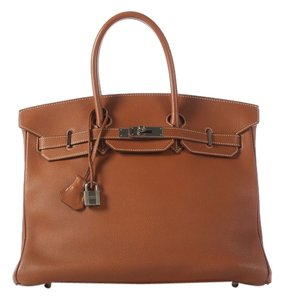 Hermès Birkin 35 Fjord Leather 2000 Satchel