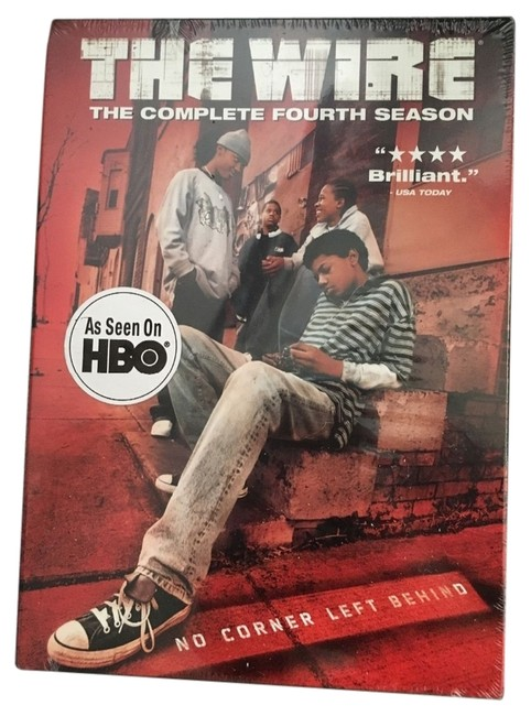 The Wire - The Complete Fourth Season (Dvd 2007 4-disc Set) The Wire - The Complete Fourth Season (Dvd 2007 4-disc Set) Image 1
