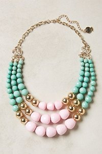 Anthropologie Currant Layered Necklace