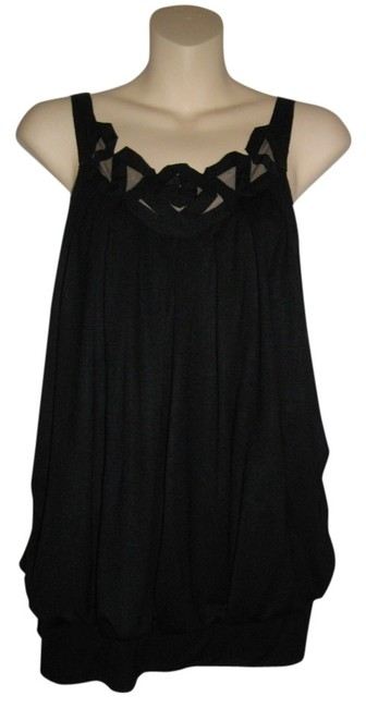 Preload https://item4.tradesy.com/images/vivienne-tam-black-mesh-openwork-camisole-halter-tank-topcami-size-6-s-714973-0-0.jpg?width=400&height=650