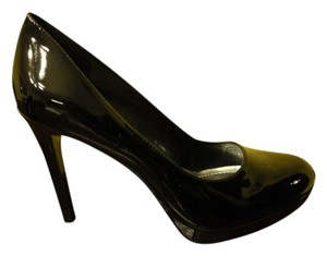 BCBGeneration High Heel Work Black Patent Pumps