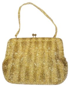 Richere gold Clutch