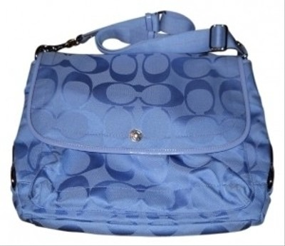 Coach Messenger Periwinkle Blue Messenger Bag